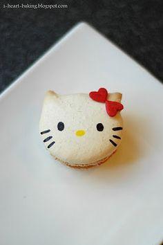 Hello Kittie Macaron
