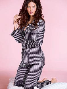 Trying to decide which pj's to get- let me know which one you gals like best :) The Afterhours Satin Pajama