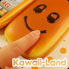 Squishy Bread-Scented iPhone 4G case
