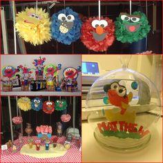 #sesamestreet #happybirthday #craft #fish #cricut #elmo #candybar
