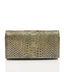 Judith Leiber Zera Mini Paillettes Python Handbag