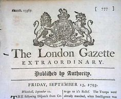 Timothy Hughs Rare & Early Newspapers