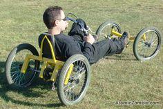 Adjustable bottom bracket suits riders of varying leg length.
