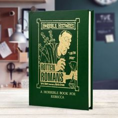 This personalised Horrible Histories Rotten Romans book teaches Ancient Roman history in a unique way, leaving in the brutal bits that teachers leave out! Personalised Childrens Books, Personalized Books, Thank You Teacher Gifts, Horrible Histories, Roman History, Teacher Favorite Things, Ancient Romans, Are You Happy, How To Find Out