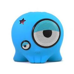 Nice little travel speakers! Boombotix Laz-E Blue now featured on Fab.