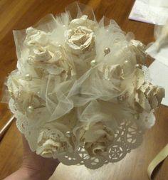 Vintage Wedding Bouquet Doily Pattern by bksvintageweddings, $3.99