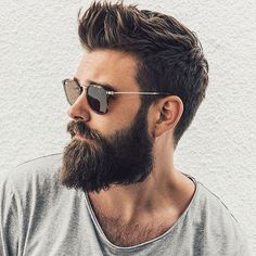 Top 27 Different Types of Beards: Best Beard Styles & Ideas 2018 Faux Hawk Hairstyles, Short Spiky Hairstyles, Mens Hairstyles With Beard, Hipster Hairstyles, Best Short Haircuts, Haircuts For Men, Hairstyles With Bangs, Men's Haircuts, Updos Hairstyle