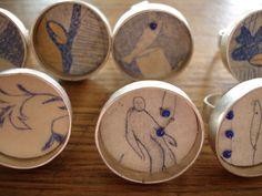 silver rings by wunderkamera