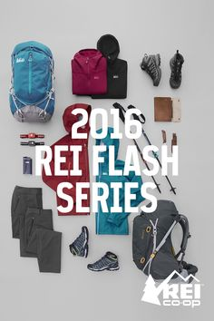 A backpacking series built for the challenge. Influenced by REI members, experts who work in our stores, and a wilderness spirit born in 1938. A series made to work together. Shop Flash now.