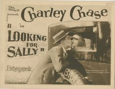 1925 - LOOKING FOR SALLY - Leo McCarey