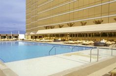 The pool at Trump Las Vegas Las Vegas Hotels, Trump Hotel Las Vegas, Casino Hotel, Chicago Hotels, Trump International Hotel, Last Minute Hotel Deals, Us Destinations, Vegas Style, Top Hotels