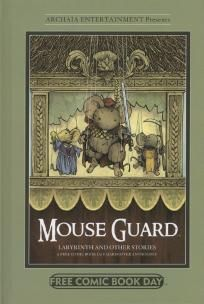 FCBD 2012 Mouse Guard and Other Stories Hardcover Anthology ---> shipping is $0.01 !!!