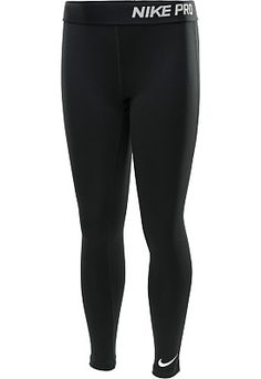 Nike Girls' Pro Core Tights - SportsAuthority.com   1st choice for sports leggings size- large in kids