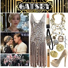 The Great Gatsby by marylinopen on Polyvore