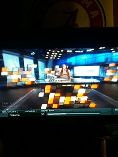 Molly Qerim in Brown Sweater and White Pants