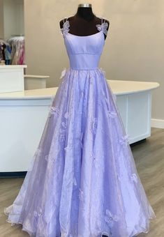 Straps Prom Dresses, A Line Prom Dresses, Ball Dresses, Ball Gowns, Formal Dresses, Dress Prom, Prom Gowns, Pastel Prom Dress, Bridesmaid Gowns