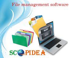 File Management System, Tech Logos, Software, Digital, School, Business, Store, Business Illustration