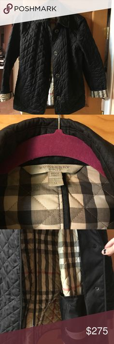 Authentic Burberry Brit Quilted Jacket In really good condition Burberry jacket, just don't wear it anymore! Burberry Jackets & Coats