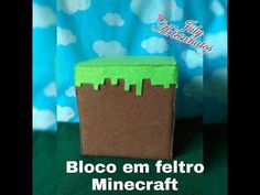 Bloco em Feltro   Minecraft