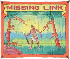 CIRCUS SIDESHOW BANNER MISSING LINK