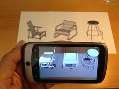 AR – thực tế ảo tăng cường, ứng dụng AR 3D vào thiết bị di động.