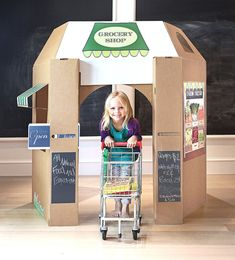 Etsy listing at https://www.etsy.com/listing/214297640/grocery-shop-playhouse