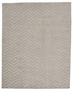 Safavieh Casual Natural Fiber Hand Woven Light Grey Chunky