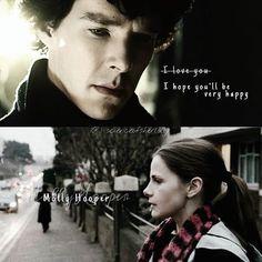Sherlock and Molly. #sherlock #sherlolly