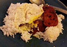 Spam and eggs Recipe -  Yummy this dish is very delicous. Let's make Spam and eggs in your home!