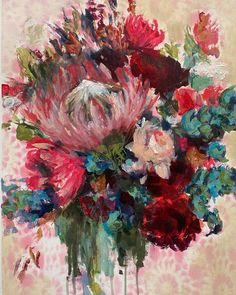 """HEIDI SHEDLOCK ▪️South Africa on Instagram: """"I am gifting this painting as part of a bit of Easter weekend fun to one special lady! Not only will she get my painting but I've teamed up…"""" Easter Weekend, Weekend Fun, Floral Paintings, South Africa, Lady, Artist, Gifts, Instagram, Presents"""