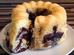 Marmorkuchen im Varoma gebacken! Lecker! Fluffig! Für den kleinen Hunger zwischendurch!