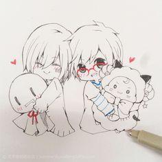 Mafu-kun and Amatsuki-kun