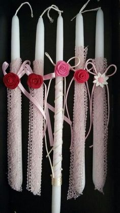 Easter Candles by Stella Handicrafts! | Πασχαλινές Λαμπάδες