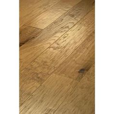 507e76079bf Hand Scraped Western Hickory Desert Gold Engineered Hardwood-DH77700144 -  The Home Depot