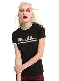 Depeche Mode Triangle Logo Girls T-Shirt | Hot Topic