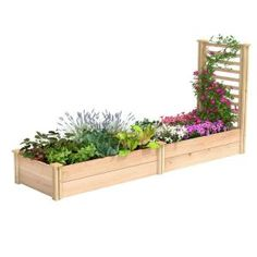 Garden Ideas Discover Oldcastle in. Tan Brown Planter Wall Block (Pack of - The Home Depot Oldcastle in. Tan Brown Planter Wall Block (Pack of - The Home Depot Cedar Raised Garden Beds, Raised Planter, Raised Bed Garden Layout, Low Maintenance Garden Design, Raised Flower Beds, Raised Beds, Garden Design Plans, Garden Boxes, Garden Ideas