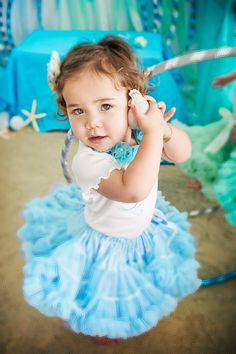 Sweetheart Pettiskirt  Baby Blue Exclusive Color by DreamSpunKids, $65.00