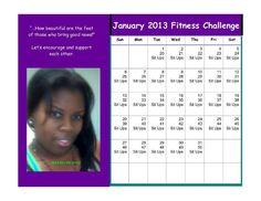 January sit-up challenge