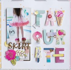 Found it at Blitsy - 11 Scrapbook Pages That Will Inspire Your Next Layout