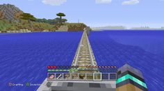 Minecraft On a Rail Trophy  500 meters