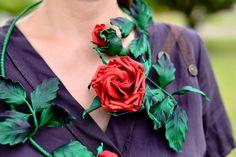 Небольшая фотосессия моих украшений из роз - Ярмарка Мастеров - ручная работа, handmade
