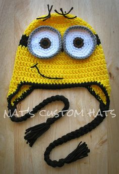 Check out this adorable little Minion Hat Pattern! 7 sizes are included in this pattern! This will be sent as a PDF file immediately upon