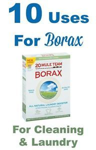 If you're looking for just a few homemade cleaning ingredients to keep on hand, then you definitely want to consider borax, which is quite versatile. Borax works wonders as a cleaning product, laundry...