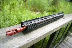PWS barrel Crimson Red Cerakote