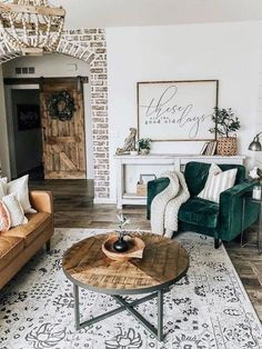 cozy living room 34 Comfy Living Room Decoration Ideas With Farmhouse Style Fantastische 34 bequeme Wohnzimmer-Dekorations-Ideen mit Bauernhaus-Art. Cozy Living Rooms, My Living Room, Living Room Interior, Home And Living, Living Area, Apartment Living, Tiny Living, Barn Living, Rustic Modern Living Room