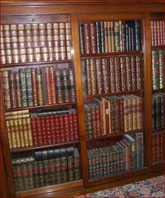 Some of my antiquarian books . . . | Content in a Cottage