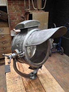 Beautiful old Industrial Lamp from So-Broc-Indus. –  We collect similar ones – Only/Once – www.onlyonceshop.com