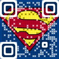 Man Of Steel 2013  trailer. Super VIsual QR Code