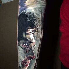 This Harry Potter tattoo is insane!