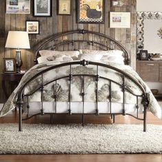 Kingstown Home Emmalina Metal Bed